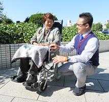 大阪市生野区の介護タクシーウィルエイド